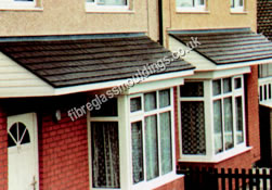 Flat Angled Bay Tops & Bay Window Canopies u0026 Bay Tops: UK Bay Canopy Manufacturers
