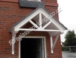 Door Entrance Canopies Residential GRP Fibreglass Overdoor Front