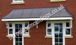 Bell Bay Lead Effect Square Canopy