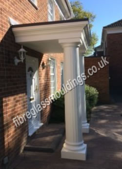 GRP Extra Tall Fluted