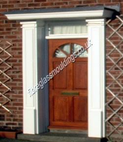 Wide Door Surrounds & GRP Door Surrounds Pilasters \u0026 Fluted Columns | Ideal For Front ... Pezcame.Com