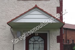 Carlisle Canopy & Door Entrance Canopies u003e Residential GRP Fibreglass Overdoor/Front ...