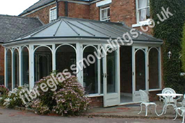 GRP Lead Effect Porch Top