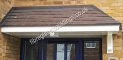 Strand Door (Corner Fit) Canopy