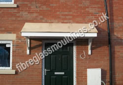 GRP Canopy with Traditional Tiles