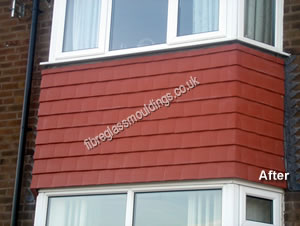GRP Between Bay Tile Cladding